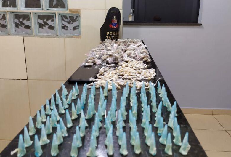 PM flagra adolescente com grande quantidade de drogas no CDHU