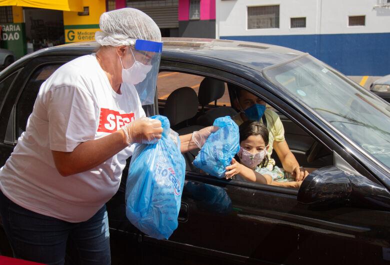 Escolas Sesi da região de São Carlos, Araraquara e Matão realizarão drive-thru solidário