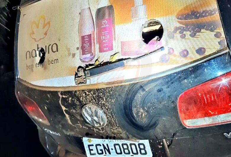Carro que pode ter sido usado em tentativa de assalto a carro-forte é localizado na região do 29