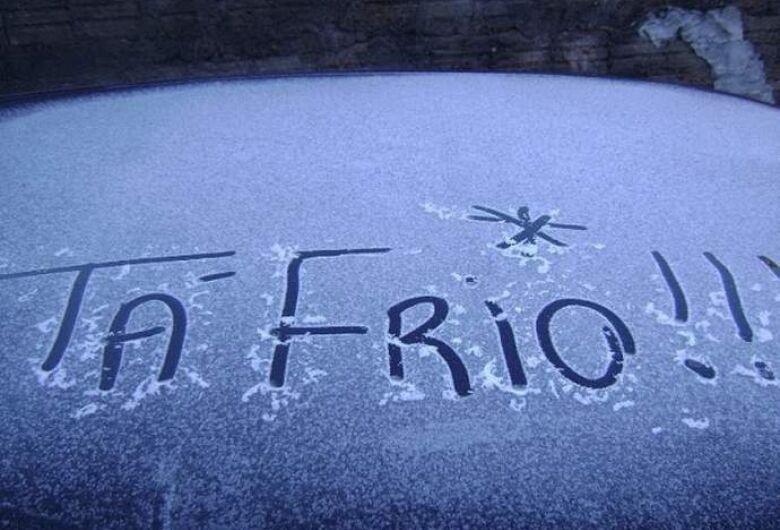 Termômetros batem 12.4ºC na manhã desta sexta-feira (14)