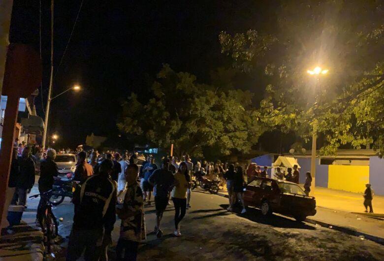 Leitor do SCA flagra aglomeração no Jardim Cruzado, em Ibaté