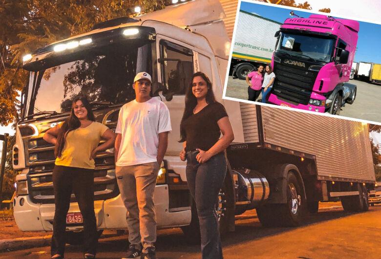 Mamães caminhoneiras de São Carlos 'cortam' o Brasil, mas com o coração em casa