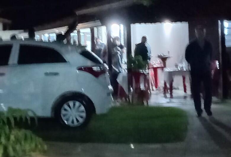 Força Tarefa interrompe festa no distrito de Água Vermelha