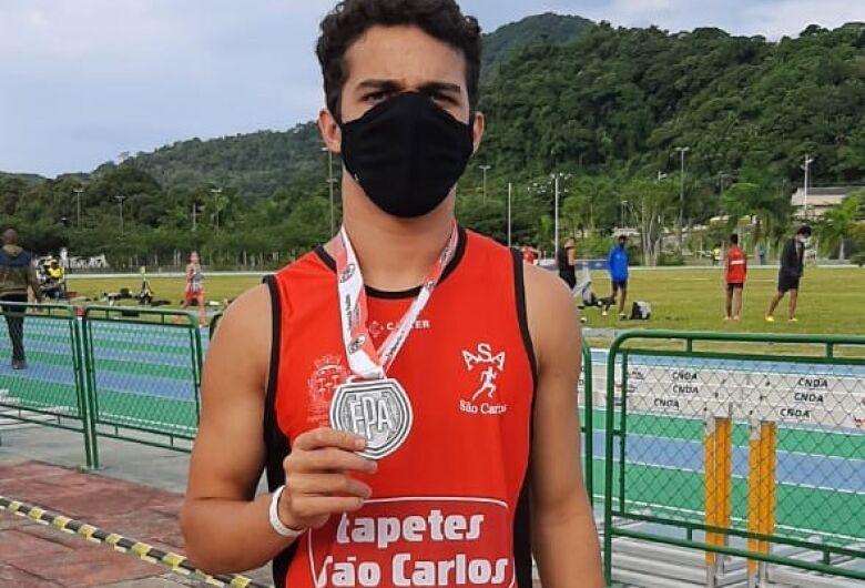 Lucca Simões conquista bronze e índice para o Troféu Brasil