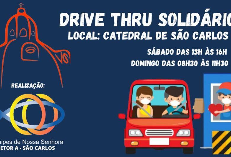 Equipes de Nossa Senhora em São Carlos se unem para arrecadar alimentos