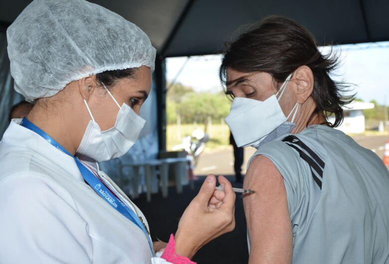 Covid-19: São Carlos inicia nesta quarta-feira a vacinação das pessoas com 50 anos ou mais sem comorbidades