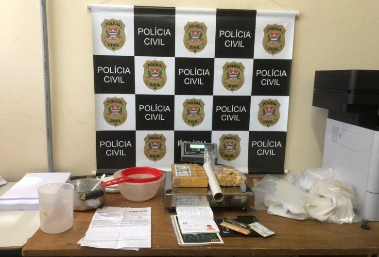 Polícia Civil prende acusado de tráfico em Porto Ferreira