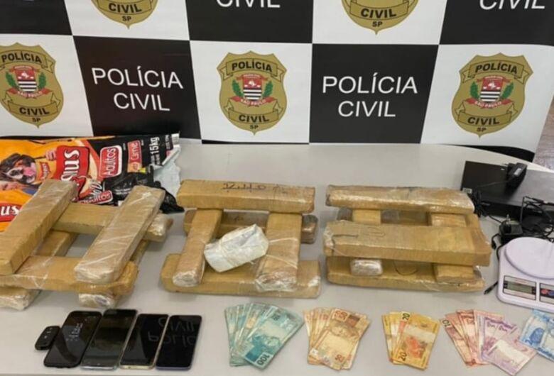DISE encontra grande quantidade de drogas em lanchonete e comerciante é preso em flagrante