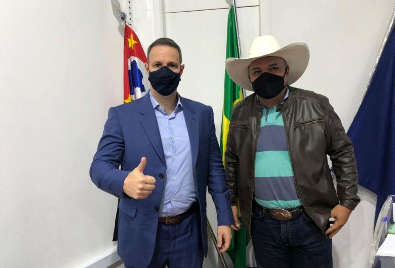 Bira prestigia visita do deputado federal Capitão Derrite e solicita emenda para São Carlos
