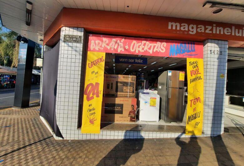 Arraial de ofertas no Magalu São Carlos