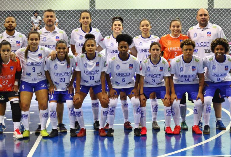 Futsal feminino são-carlense estreia em casa na Liga Paulista