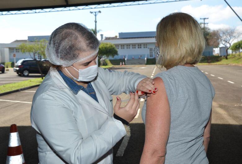 Saúde vai aplicar mais de 2.500  doses por dia da vacina contra a Covid-19