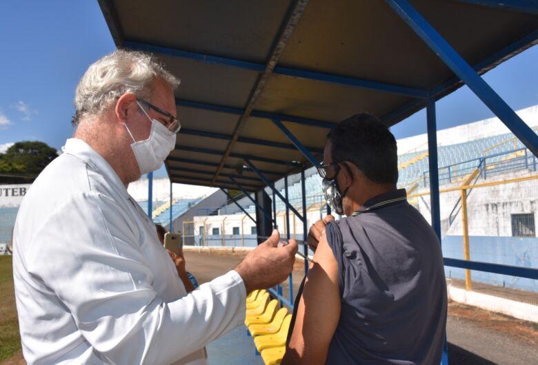 Sábado tem plantão de vacinação contra a covid-19 em São Carlos