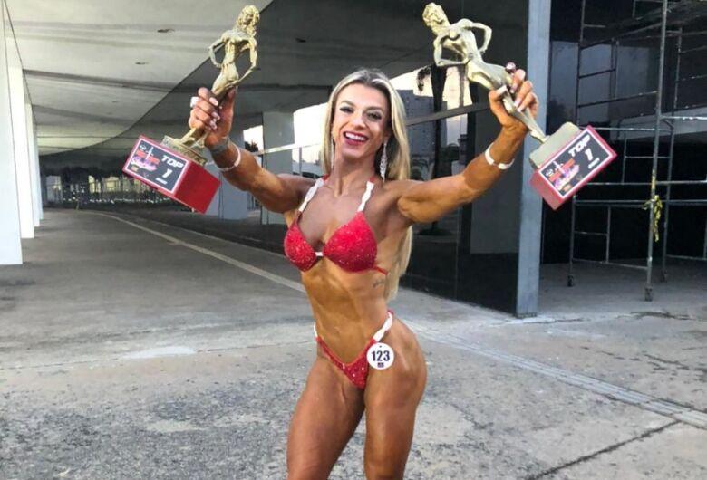 São-carlense é bicampeã no Muscle Contest