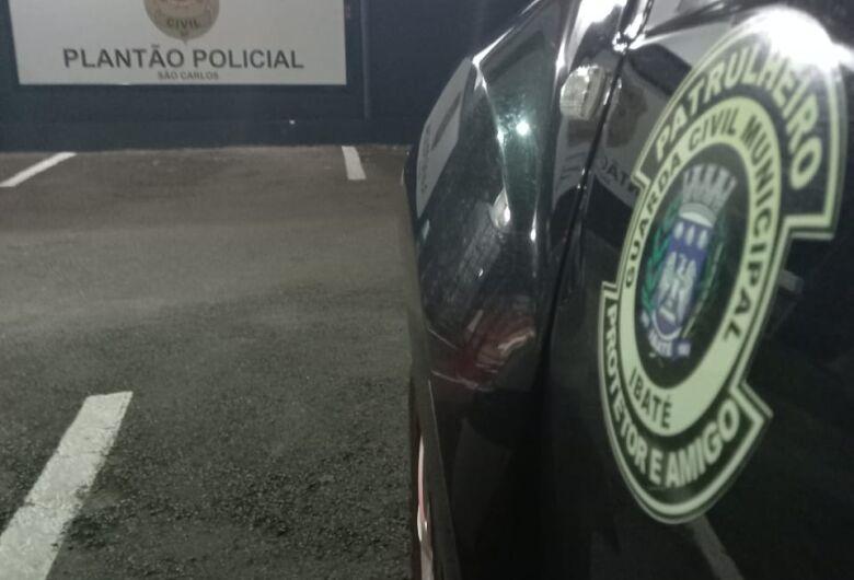 GM de Ibaté prende suspeito após furto a estabelecimento comercial