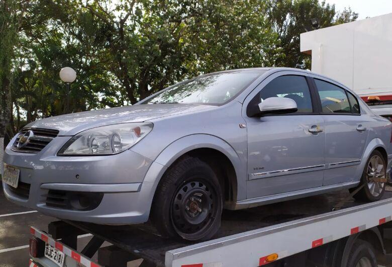 Produto de furto, carro é localizado no Cidade Jardim