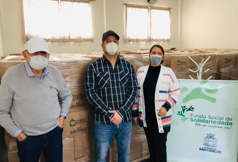 FSS recebe 2 mil cestas básicas do Governo do Estado