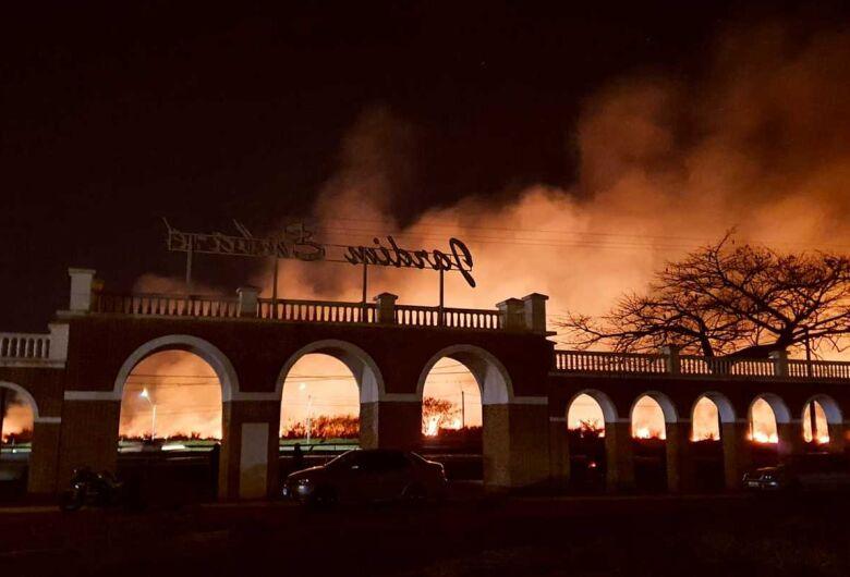 São Carlos registra vários focos de queimadas nesta quinta-feira