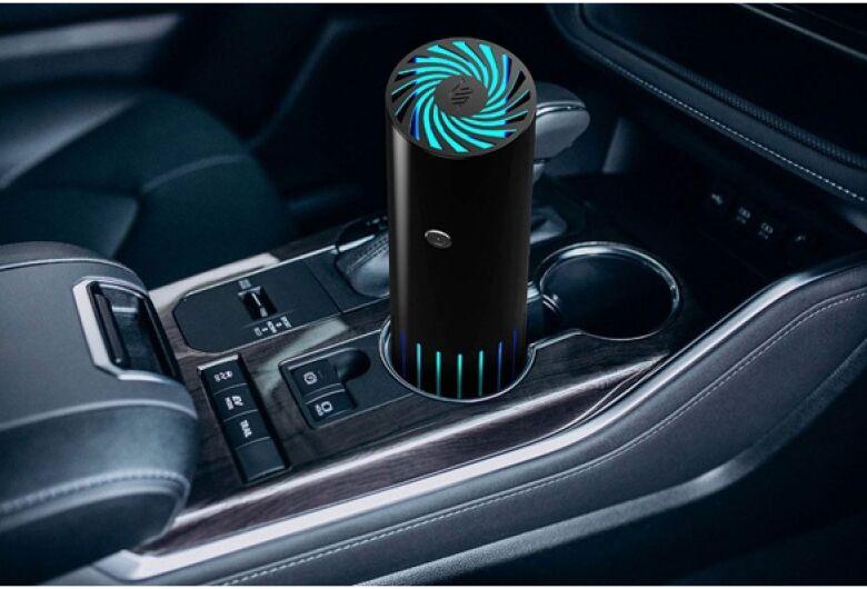 Pesquisadores e técnicos do CEPOF – LAT – IFSC – USP e EMBRAPII - desenvolvem  descontaminador (UVC) portátil para o interior de automóveis