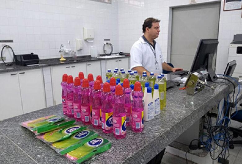 Operação do Ipem-SP detecta erros em 33% dos produtos de limpeza examinados em laboratório
