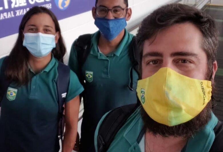 Equipe de Triathlon do Sesi São Carlos participa do reconhecimento de prova dos Jogos de Tóquio
