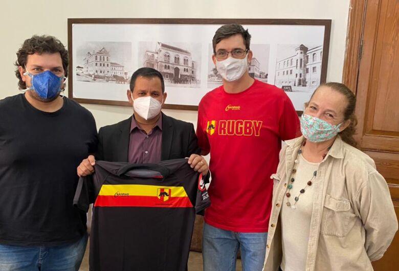Rugby São Carlos apresenta novos projetos à Câmara Municipal