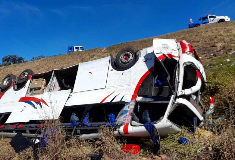 Acidente com ônibus deixa 3 pessoas mortas e 37 feridas na Washington Luis