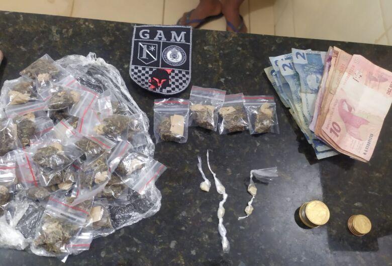 Trio de adolescentes é detido com drogas no Jóquei Clube