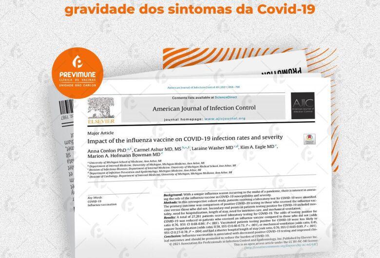 Estudos recentes demonstram que vacina quadrivalente contra a gripe estimula células de proteção contra Covid-19