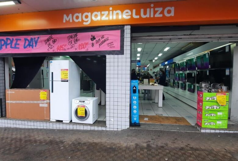 Super fechamento de mês no Magazine Luiza