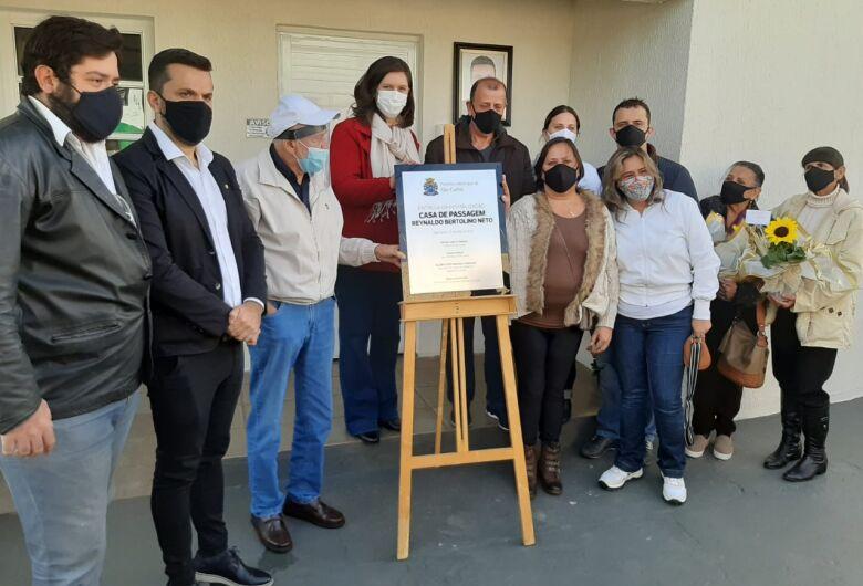 Prefeito Airton Garcia entrega oficialmente obras de reforma da Casa de Passagem