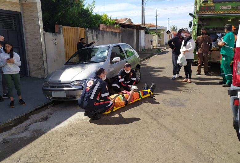 Gari é atropelado durante o serviço no Maria Estela Fagá