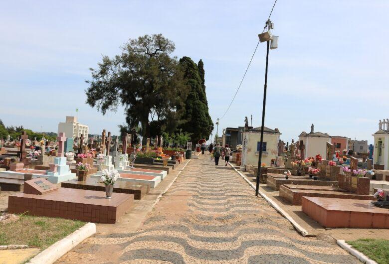 Cemitérios abrirão em horário especial em virtude do dia dos pais