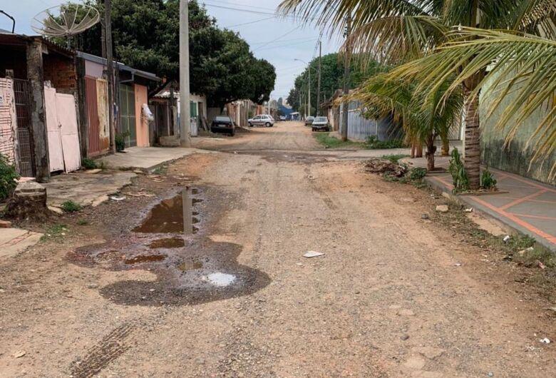Rua no Jardim Real será asfaltada em breve