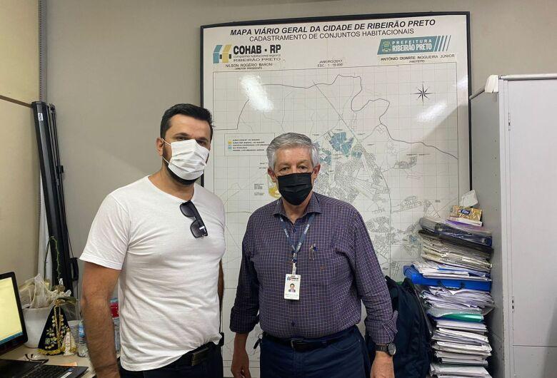 Rodson visita COHAB de Ribeirão Preto