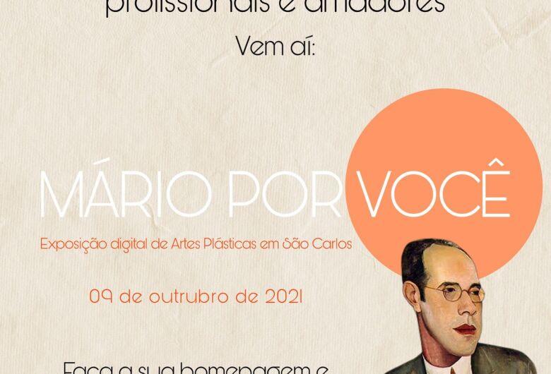 Um convite para livre criação de arte inspirada em Mário de Andrade