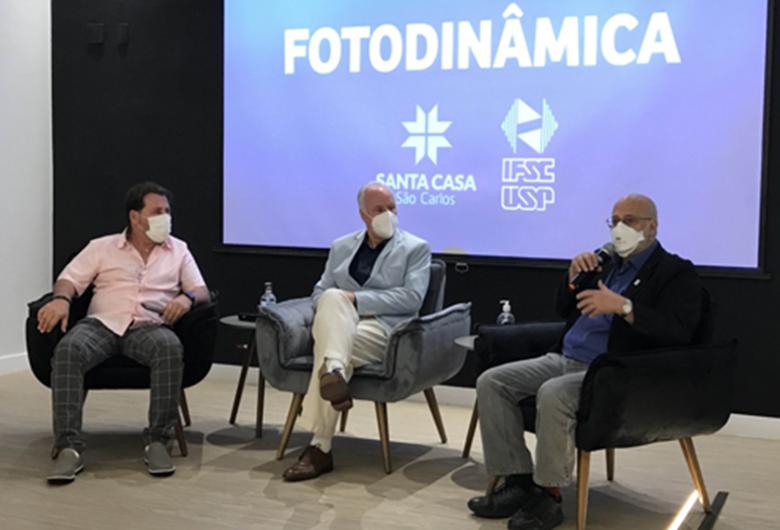 As inovações na Saúde e as Novas Tecnologias na Unidade de Terapia Fotodinâmica (UTF) inaugurada na Santa Casa de Misericórdia de São Carlos em Parceria com o Centro de Pesquisa em Óptica e Fotônica – Instituto de Física de São Carlos -USP