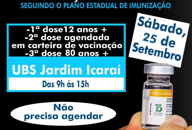 Ibaté terá plantão de vacinação contra COVID-19 neste sábado (25)