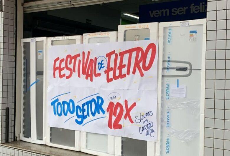 Festival de eletro com descontos de até R$ 800,00; tudo a pronta entrega no Magazine Luíza