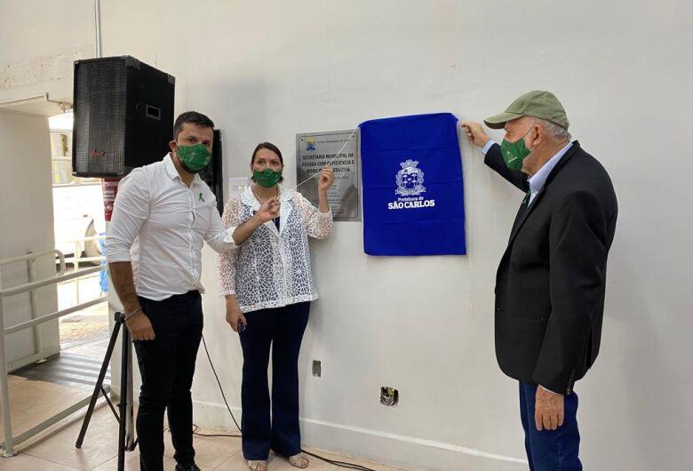 Vereador Rodson participa da inauguração da nova sede da Secretaria Municipal da Pessoa com Deficiência e Mobilidade Reduzida