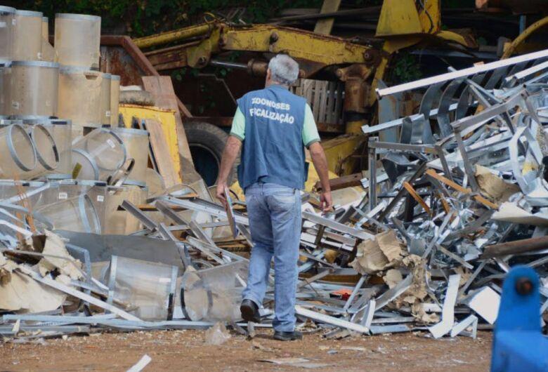 Em São Carlos, fica proibida a compra de materiais de origem duvidosa em ferros-velhos