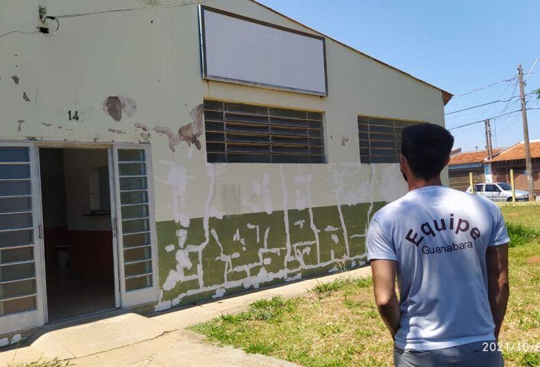 CRAS Santa Felicia recebe reforma através de recursos destinados por Elton Carvalho