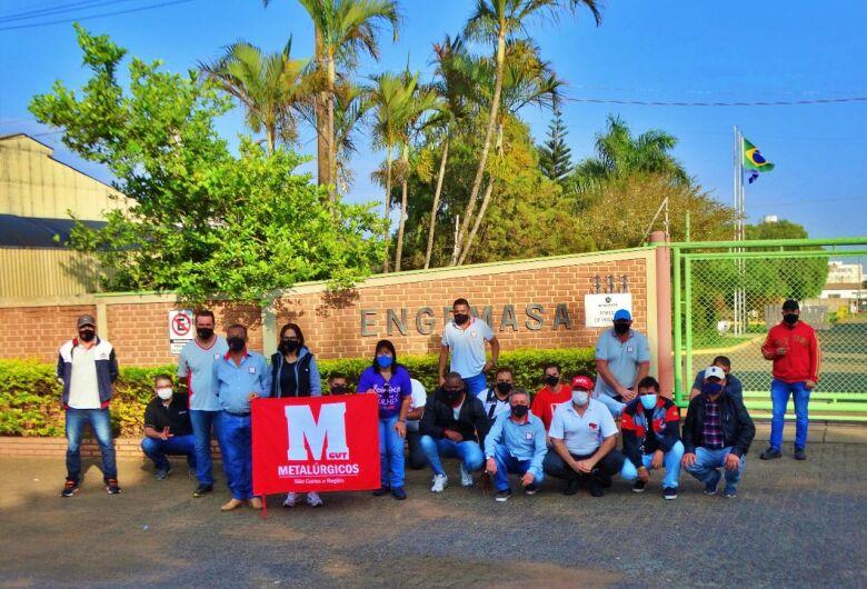 Após mobilização, trabalhadores da Engemasa conquistam PLR