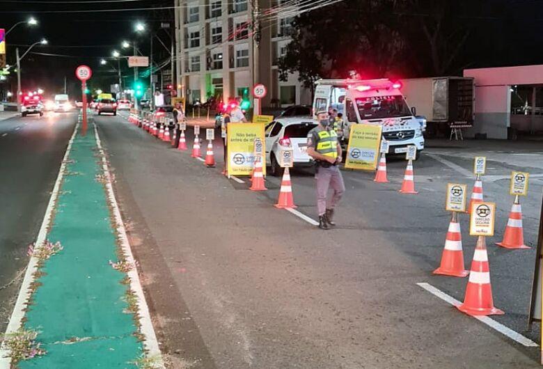 Operação Lei Seca autua 11 motoristas em São Carlos