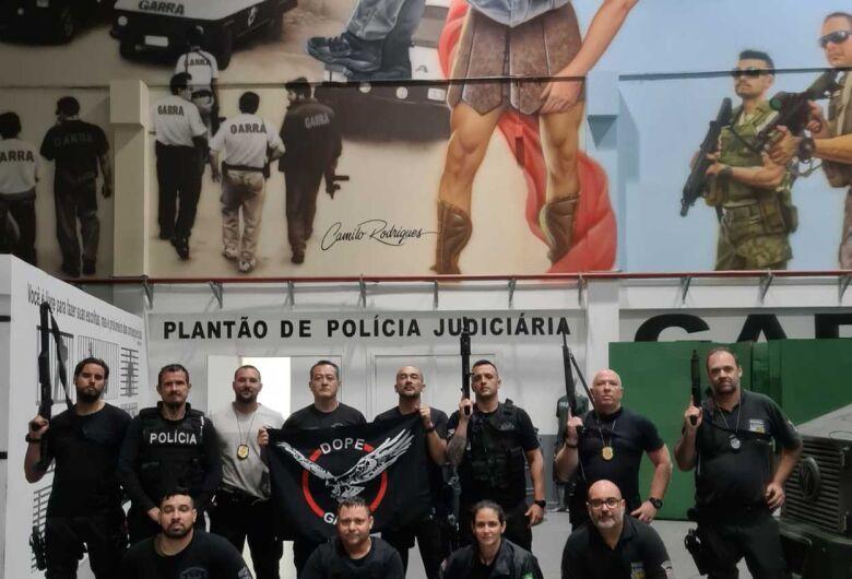 Policiais civis do GOE de São Carlos participam de treinamento na capital