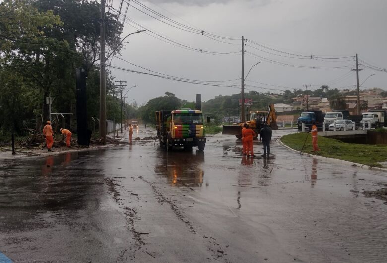 Choveu 80,40 mm em São Carlos na tarde desta quarta-feira; raio deixa UPA da vila Prado sem energia
