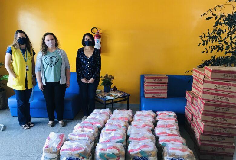 LBV faz a entrega de alimentos a duas instituições de São Carlos