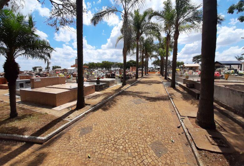 Cemitério de Ibaté estará aberto para visitação no Dia de Finados