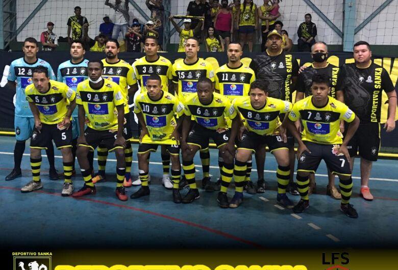 A rede balança no 1º Torneio de Futsal
