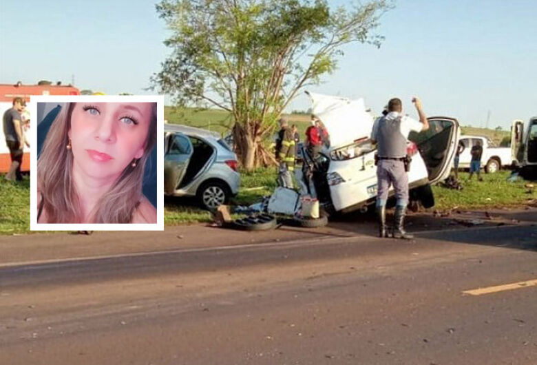 Enfermeira morre em acidente na SP-317